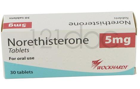 Las pastillas de Noretisterona para retrasar la regla